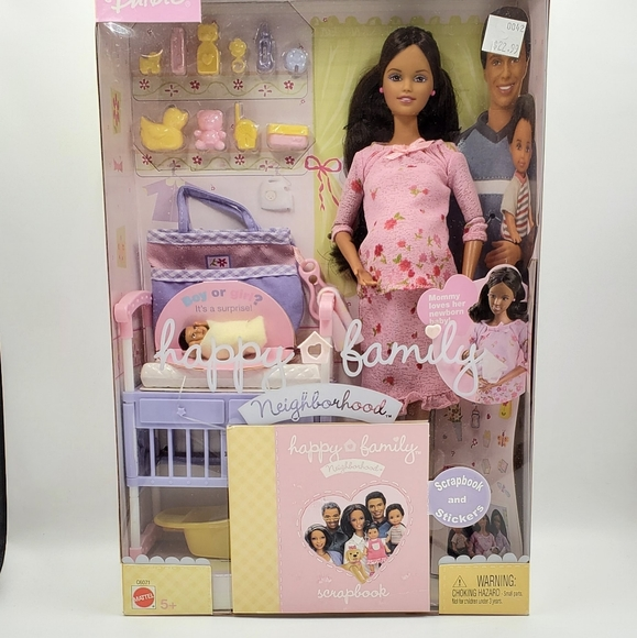 2003 Pregnant Midge & Baby AA Rare